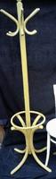 Régi Hajlított Thonet Jellagű Esernyőtartós Álló Fogas