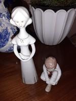 Aquincumi porcelán figurák egyben