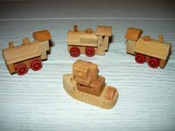 4db fa jármű,a régi Kinder sorozatból