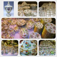 Antique! Luxury 320 pieces.Herendi Victorian Porcelain Collection!