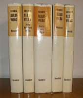 URANIA Állatvilág 5 kötet