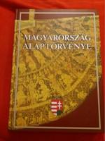 2002 A  MAGYAR ALKOTMÁNY súlyos vastag könyv  színesben gazdagon illusztrálva