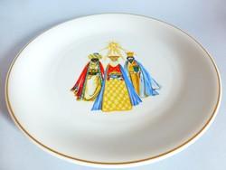 Ritka Rosenthal tányér,dísztányér Három Királyok