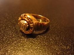 Női aranygyűrű 14 krt , 5.03 gr