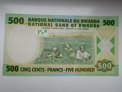 Ruanda 500 francs 2013 UNC