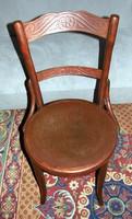Tonett szék nyomott mintás