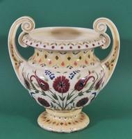 Antik Zsolnay váza, 19.sz, hibátlan