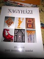 Nagyházi Galéria árverési  katalógus