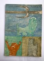 Bálint Endre szürrealista festménye