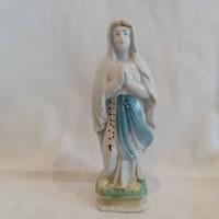 Antik porcelán vallásos szobor