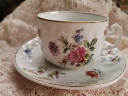 Álomszép porcelán teás csésze