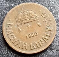 1 Fillér 1930.