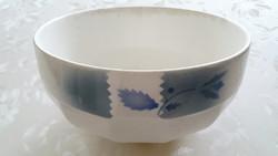 Régi Gránit tál kék mintás 22,5 cm