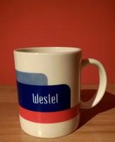 20 éves  Westeles  porcelán csésze  bögre,hibátlan  1999-ből !