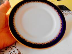 Rosenthal kobalt festéssel tányér - 15,5 cm