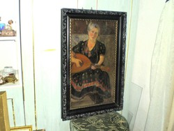 "Gábor Jenő(1893-1968)""Női portré"""