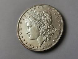 1897 USA ezüst dollár,gyönyörű verdefényes állapotban 26,7 gramm 0,900 így nagyon!!RITKA