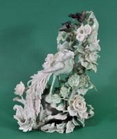 Jade faragvány, fán ülő madarakkal