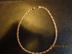 Arany női nyakék , nyaklánc 14krt , 20.7gr