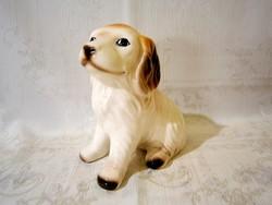 E_007 Nagyon aranyos porcelán kutya 15 cm magas
