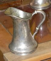 1867-1937 Bp.-i fémjeles BACHRUCH ANTAL féle EZÜST TEJKIÖNTŐ 426 gramm