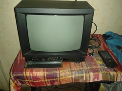 Retro JVC szines TV