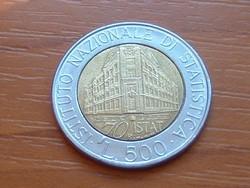 OLASZ 500 LÍRA 1996 1926-1996 70 ÉVE.... EMLÉK BIMETÁL #