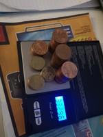 Euró 5 és 10 centek 332g