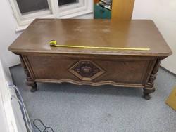 XX. század eleji Neobarokk stílusú íróasztal