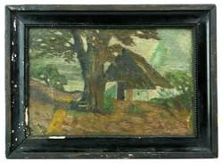 Ismeretlen festő 19. sz. vége: Présház