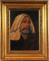 Kaufmann Izidor (1853-1921): Rabbi portré