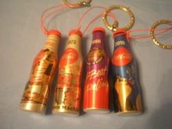 U14 Reklám Coca-Cola 1950-70-80-2010 kulcstartói egyben eladóak