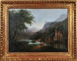 Ifj. Markó Károlynak tulajdonítva (1822-1891): romantikus tájkép