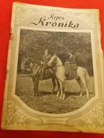 Antik Képes Krónika folyóirat újság 43. szám