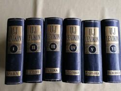Uj lexikon I-VI.  1936