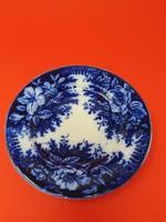 Antik Nowotny Altrohlau kobaltkék tányér