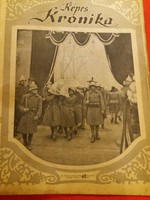 Antik Képes Krónika folyóirat újság 1921.03. 01.