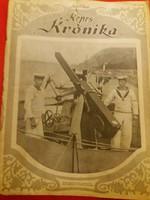 Antik Képes Krónika folyóirat újság 31. szám