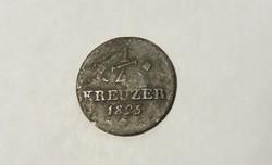 Hessen, 1/4 Krajcár 1825.