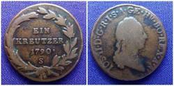 1 krajcár 1790 S / id 1450/