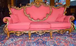 Antik reneszánsz kanapé