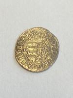 Lipót ezüst dénár 1694