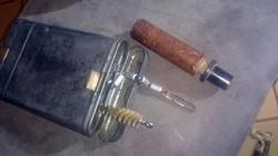 Német Mauser tisztitokészlet,ahogy itthagyták,jelzett,MUNDLOS 1937 , birodalmi sas Waa