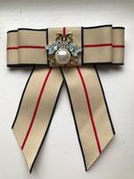 Extra mutatós női nyakkendő/ masni bross