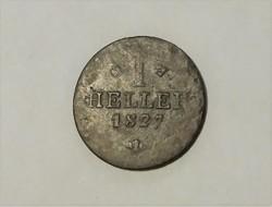 1 Heller 1827.