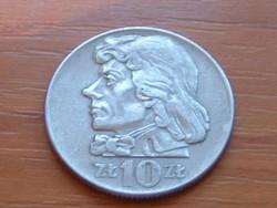 LENGYEL 10 ZLOTY 1959 KOSCIUSZKO #