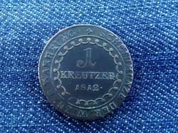 Ausztria II. Ferenc (1792-1835) 1 Krajcár 1812 B / id 1410/