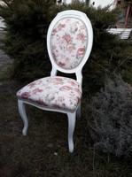 Restaurált neobarokk szék.