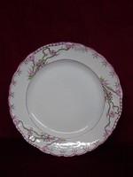 Antik minőségi német porcelán lapostányér, vitrin minőség, gyönyörű.