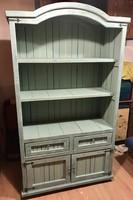 Vintage tálaló, könyves szekrény felújítva